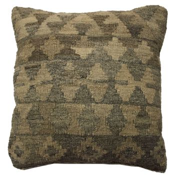 Handmade Silverwash Kilim Cushion